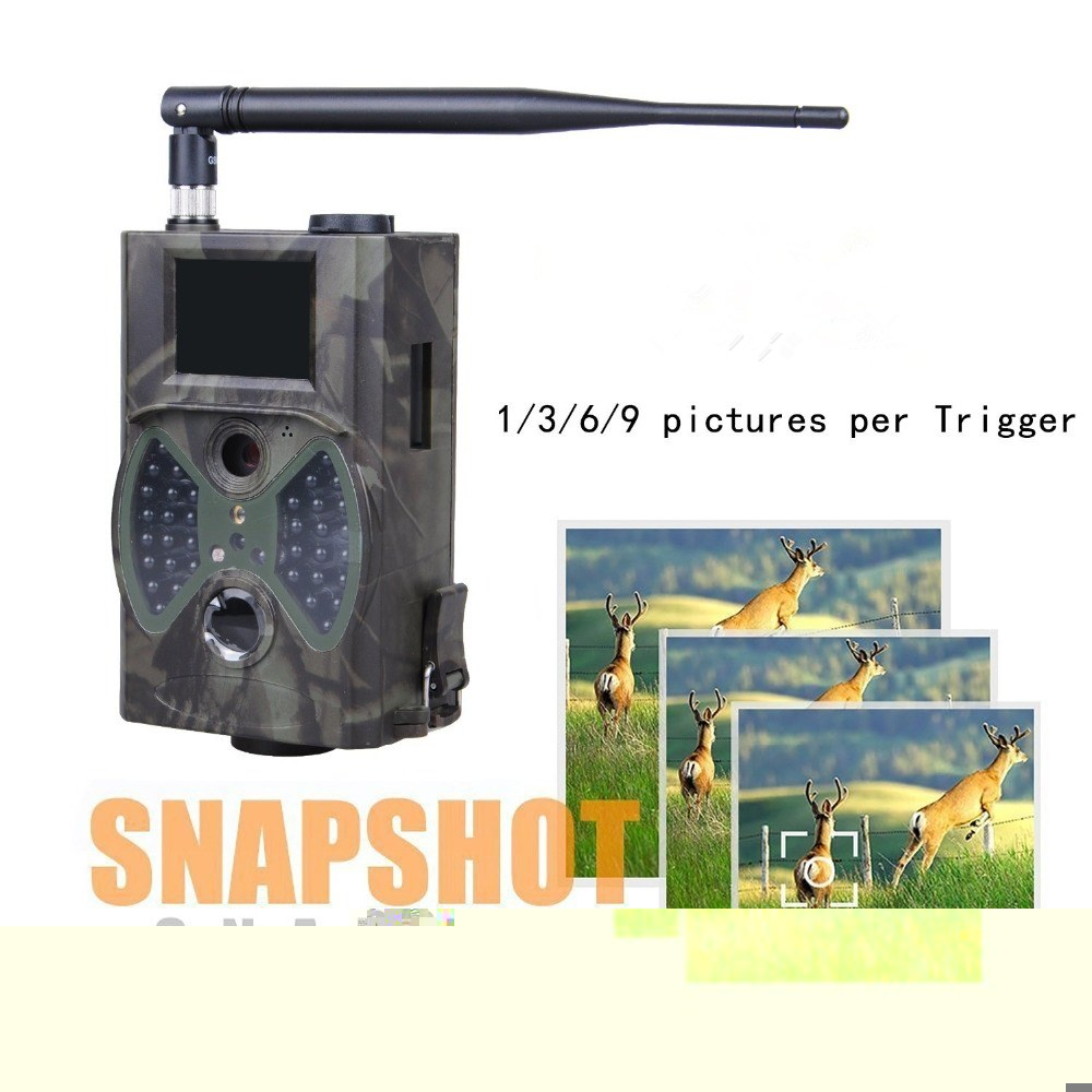 12MP 1080P HD GSM GPRS MMS Hunting Game Cameras Trap Infrared Wildlife Trail Camera HC-300M цена 2017