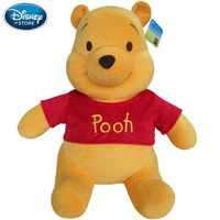 Disney Winnie The Pooh Mickey Mouse Minnie Doll Stitch Short Plush Toy Doll Baby Stuff Birthday Christmas Gifts For Children