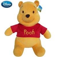 Disney Winnie The Pooh Mickey Mouse Minnie Doll Stitch Short Plush Toy Doll Baby Stuff Birthday