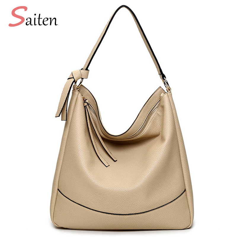 Luxury Leather PU Handbags Women Bag Designer Ladies Hand bags Big Hobos Shape Bag Casual Tote 2017 Women shoulder Bags bolsa 2017 famous brand women leather handbags lichee pattern pu leather shoulder bags big ladies hand bag sac a main hobos tote bag