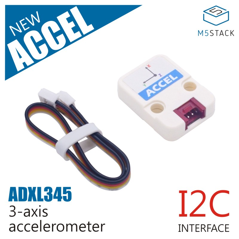 M5Stack Official Mini ACCEL Unit 3-axis Accelerometer I2C Interface