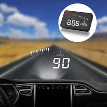 3 ''экран высокой четкости OBD2 X5 Авто HUD автомобильный проектор скорости лобового стекла цифровой дисплей скорости на плате