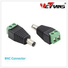 CCTV Accesory 10pcs/Lot DC Connector DC Lead Male