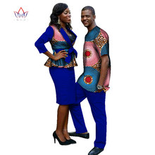 2018 New Lovers Womens Mens African Clothing Two Sets Matching Couples African  Clothes four pieces Clothes 00ad6b3ff3e7