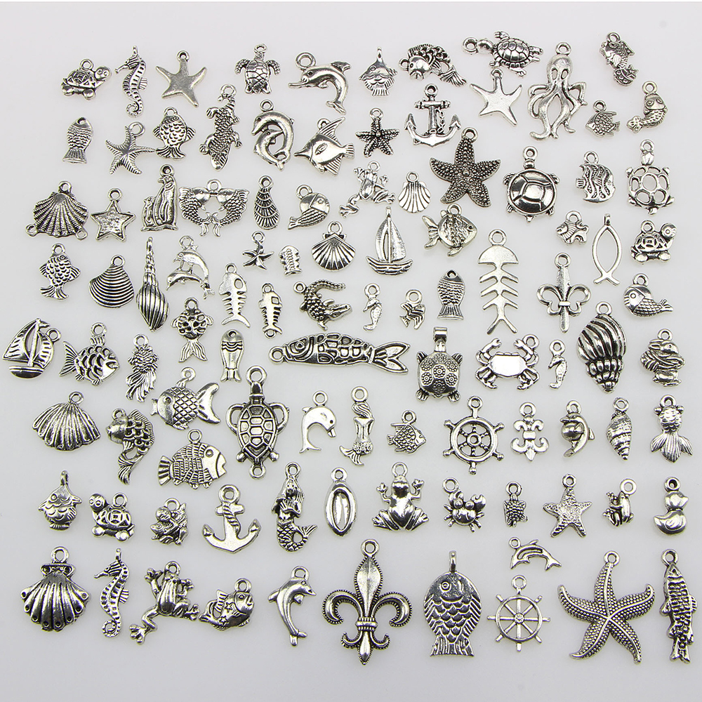 Lot Mix  Alice in wonderland Rabbit DIY Charms Jewelry Making Pendants  B-15