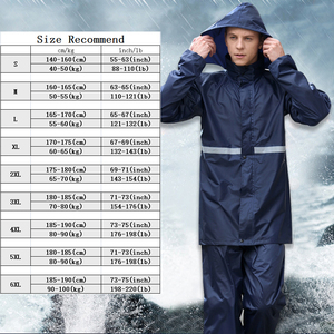 Image 5 - Rainfreemเสื้อกันฝนImpermeableผู้หญิง/ผู้ชายรถจักรยานยนต์Poncho S 6XLเดินป่าตกปลาRain Gear