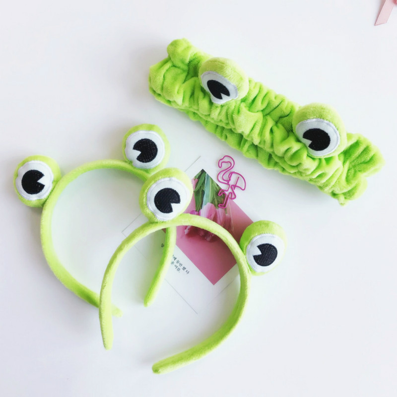 Funny Paragraph Frog Hair With A Self-hoop Elastic Elastic Wide Brim Animal Headband Evening Jewelry