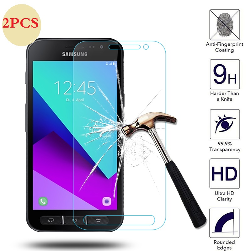 For Samsung Galaxy Xcover 4 G390F Tempered Glass Screen Protector For samsung x cover 4 Galaxy X cover 3 G388F Protective FilmFor Samsung Galaxy Xcover 4 G390F Tempered Glass Screen Protector For samsung x cover 4 Galaxy X cover 3 G388F Protective Film