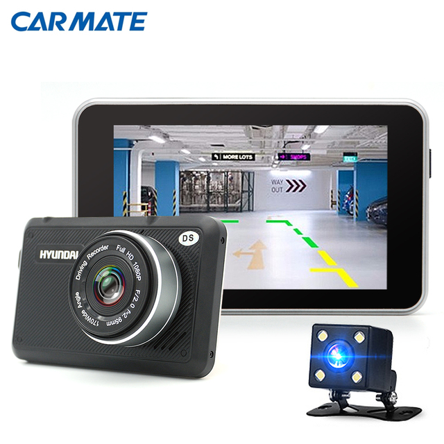 Dual Lens Car DVR Camera Full HD 1080P Video Recorder Dash Cam Parking Monitor Auto Camera dvrs Night vision With Rear view