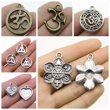 Mix Om Pendant Charm For Jewelry Making Diy Craft Sports Women High Quanlity