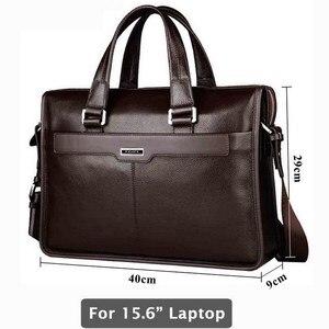 Oryginalne skórzana teczka na laptopa, skórzana torba, przez 15 cal komputer przenośny, 15.6 cal torba na laptopa