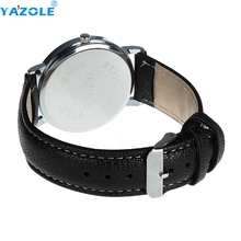 Creative Luxury Fashion Leather Strap Watch Men Quartz Watch Casual Males