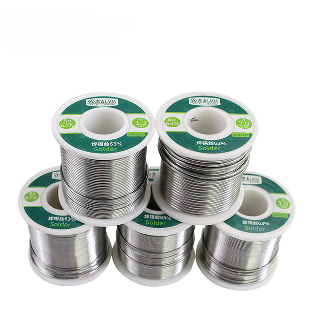 1 PCS 400G LAOA 63% Tin Content 0.8-2.3mm Solder Wire Welding Wires solder stick tin wire 3