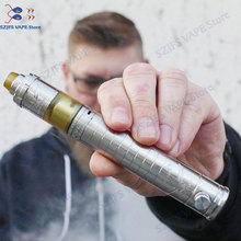 HOT Taifun skarabaus pro mech mod with Vapor Giant v6S 23mm RTA kit fit 21700 battery brass vape 316 ss 25mm Vaporizer Vape