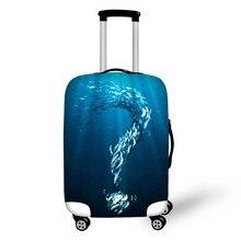 Koffer Beschermhoes Zeevis Kofferbak Koffer Geschikt voor 18-30 inch Koffer Elastisch Dik Bagage Reisaccessoires