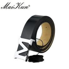 Maikun Womens Belts for Men Unisex High Quality PU Waistband Women Belt