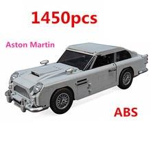Technic Series 10262 Aston Martin DB5 Set Building Blocks Bricks Children Car Model Gifts Toys new 50pcs cross axle series bricks model building blocks toy boy technic parts children toys bricks
