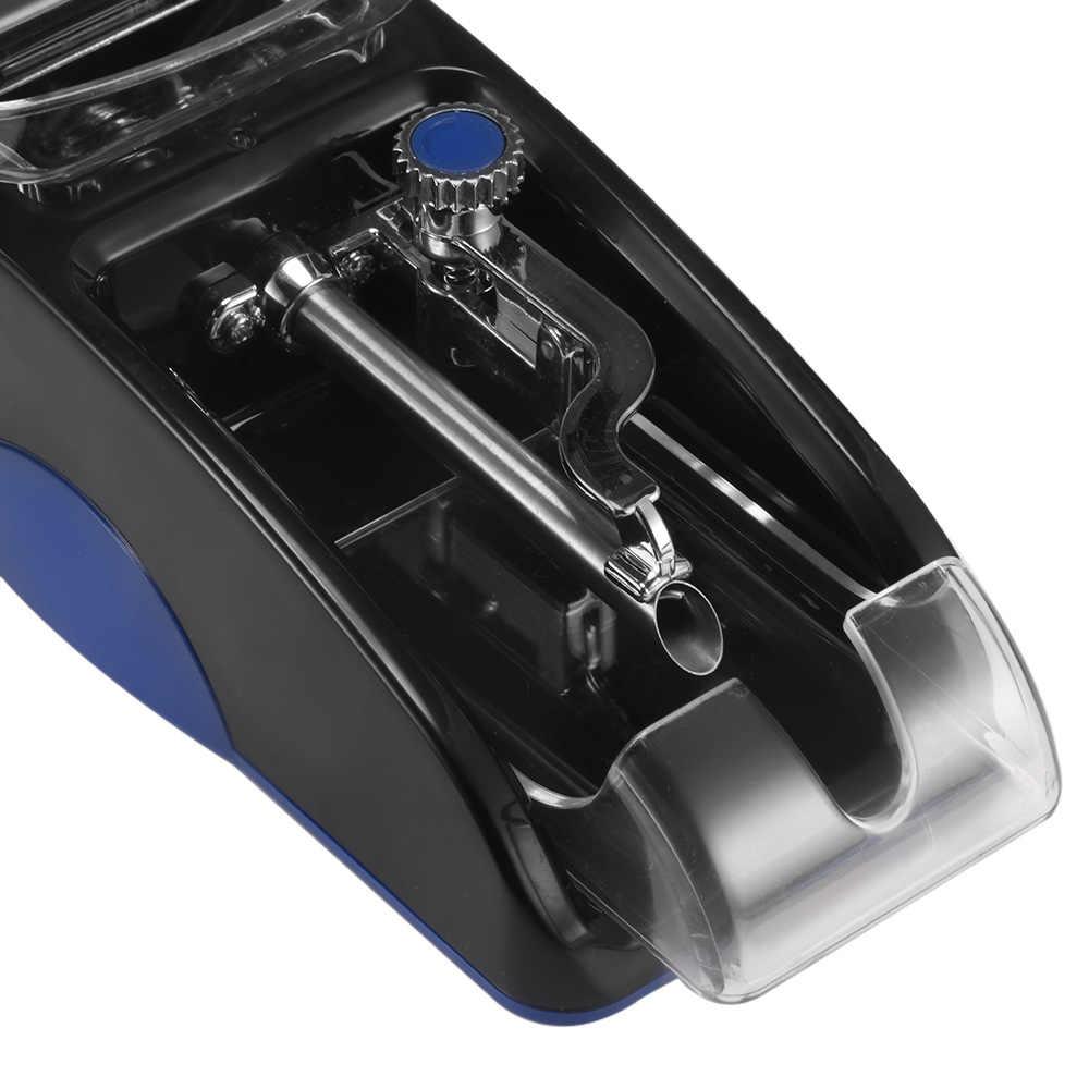 ЕС вилка электрическая Легкая Автоматическая сигарета прокатки машина набиватель табака производитель ролика Прямая доставка
