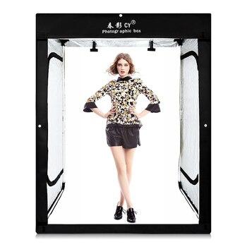 CY 8 * Светодиодный софтбокс, 200x120x100 см, светильник для фотостудии, палатка, мягкая коробка для модели, тела, портрета, одежды, фотосъемки