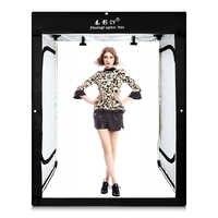 CY 8 * listwy led + 200x120x100CM Photo studio softbox lampa fotograficzna namiot miękkie pudełko na model body portret odzież sesja zdjęciowa