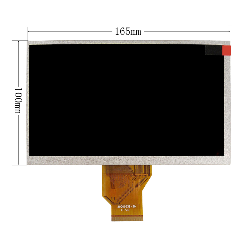 New 7 Inch Replacement LCD Display Screen For Ematic Genesis 2 tablet PC Free shipping original and new 8inch lcd screen claa080wq065 xg for tablet pc free shipping
