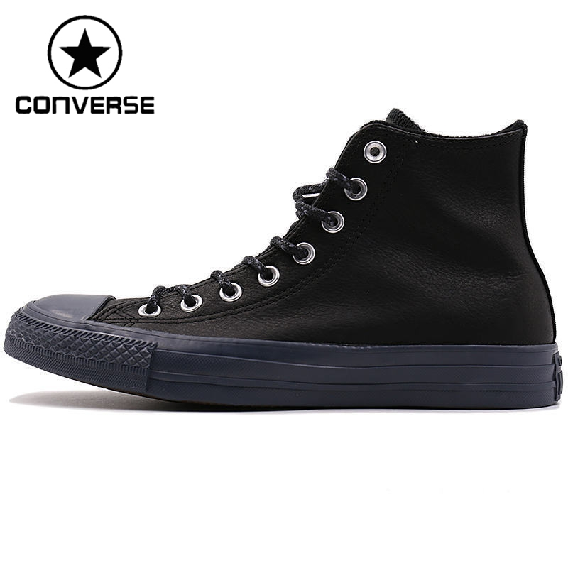 Original New Arrival 2017 Converse Men's Skateboarding Shoes Leather Sneakers new arrival iron