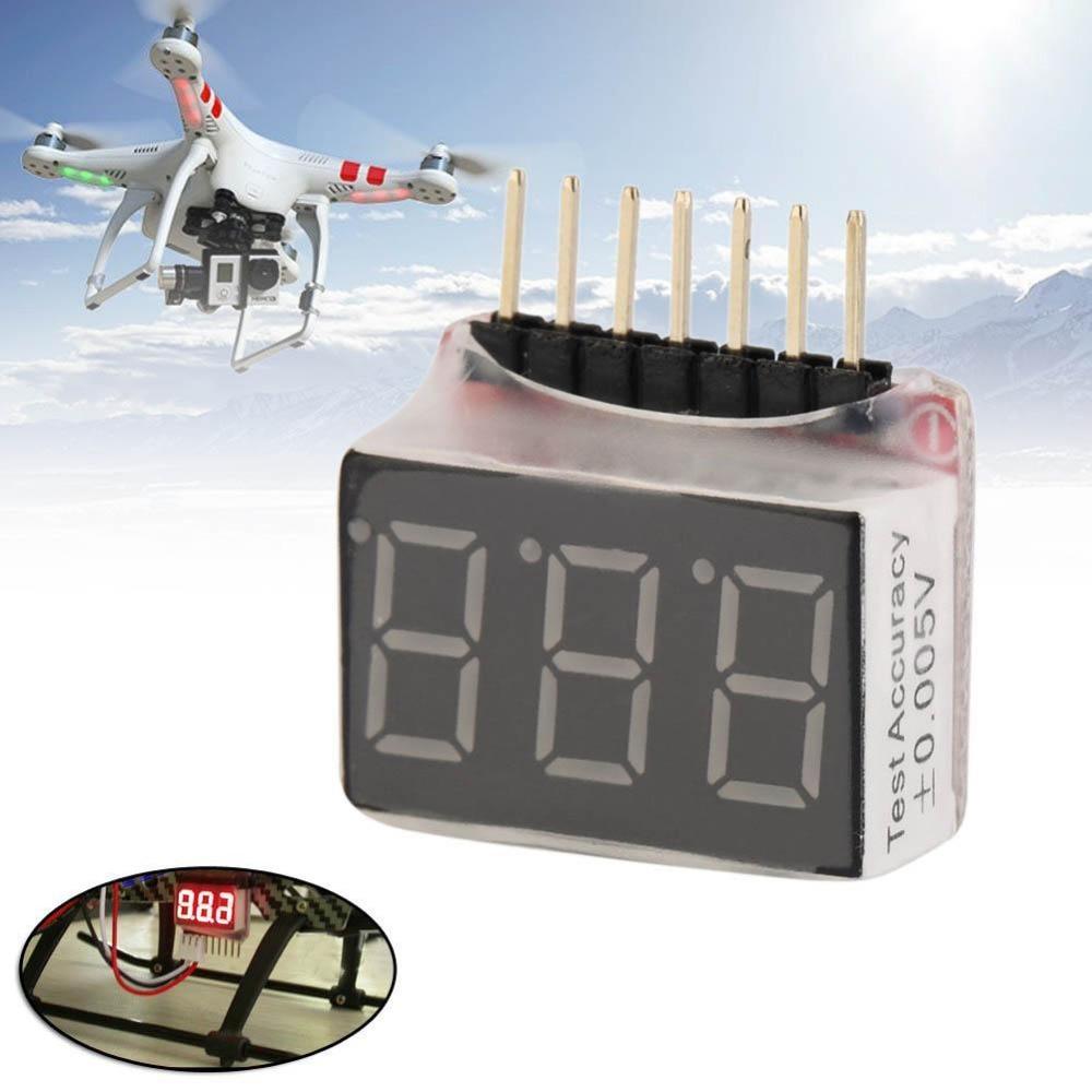 Проверки Тесты er Тесты 2.8 В-25.2 В 1-6S RC 1 s-6S lipo Батарея Напряжение индикатор