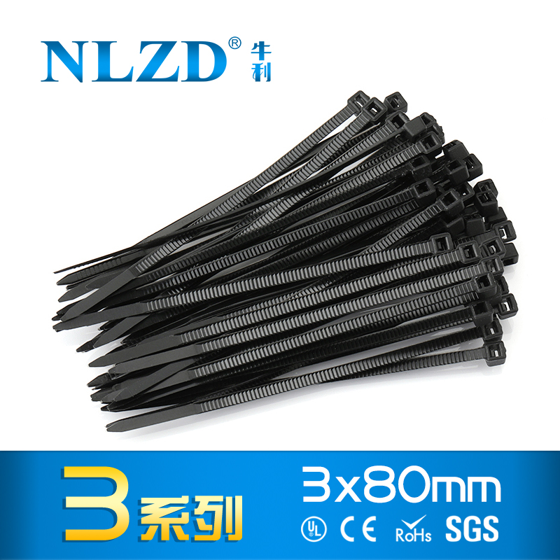 5x 100 14 inch Cable Zip Ties Nylon Black 500 pcs Pack 50 Lbs Zip Ties For Wire