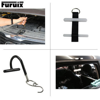 FURUIX 1/2 pcs High quality strap tools  for pdr hook with S hook PDR tools Door belt Repair for the car body dent цена 2017