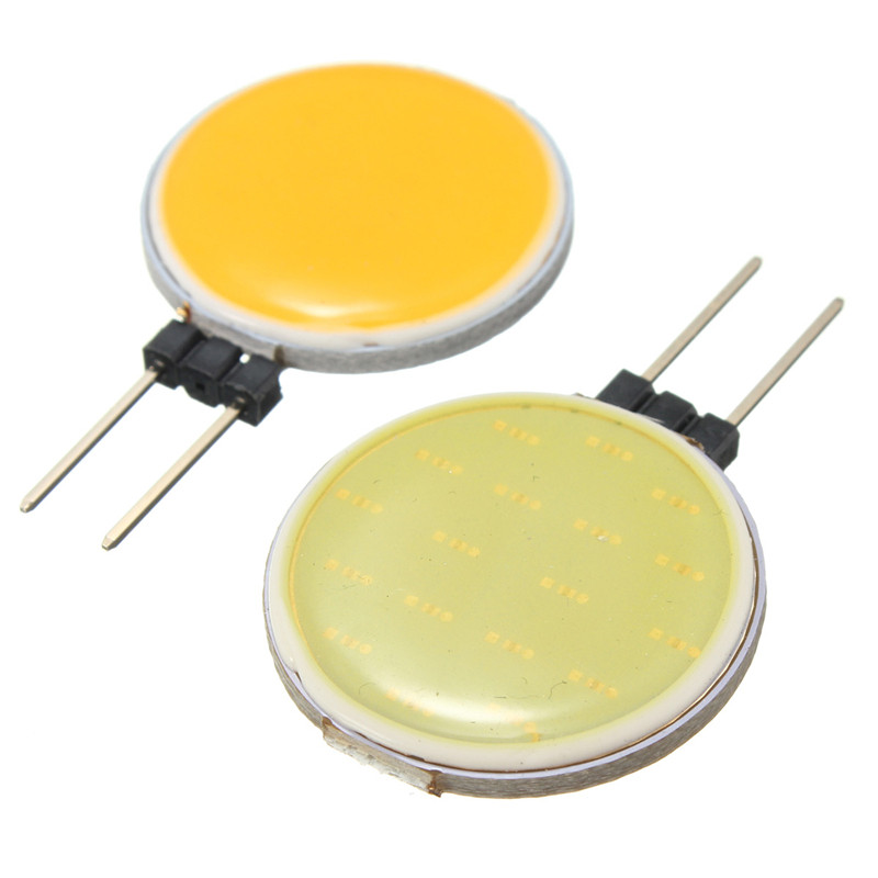Top Quality G4 COB 4W 5W 7W 12W Pure Warm White LED 15 18 30 63 Chips Replace Halogen Lamp Spot Light Bulb(China)