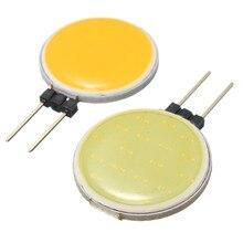 최고 품질 g4 cob 4 w 5 7 12 순수한 따뜻한 흰색 led 15 18 30 63 칩 할로겐 램프 자리 전구 교체