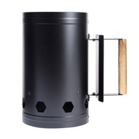 Portable Outdoor Camping Picnic Wood Burning Stove Firewood Charcoal Lighter Coal Starter BBQ Barbecue Barrel Rapid