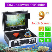 EYOYO 9 Touch Screen Fishing Finder 15m Infrared Light Controllable Underwater Camera For Ocean Sea Boat