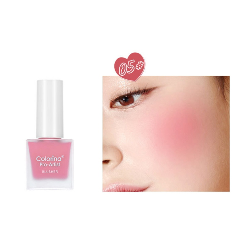 Lasting Makeup Cosmetics Beauty Products Liquid Blush Repairing Rouge Water Blush Beads Shiny Silky Make Up Tool