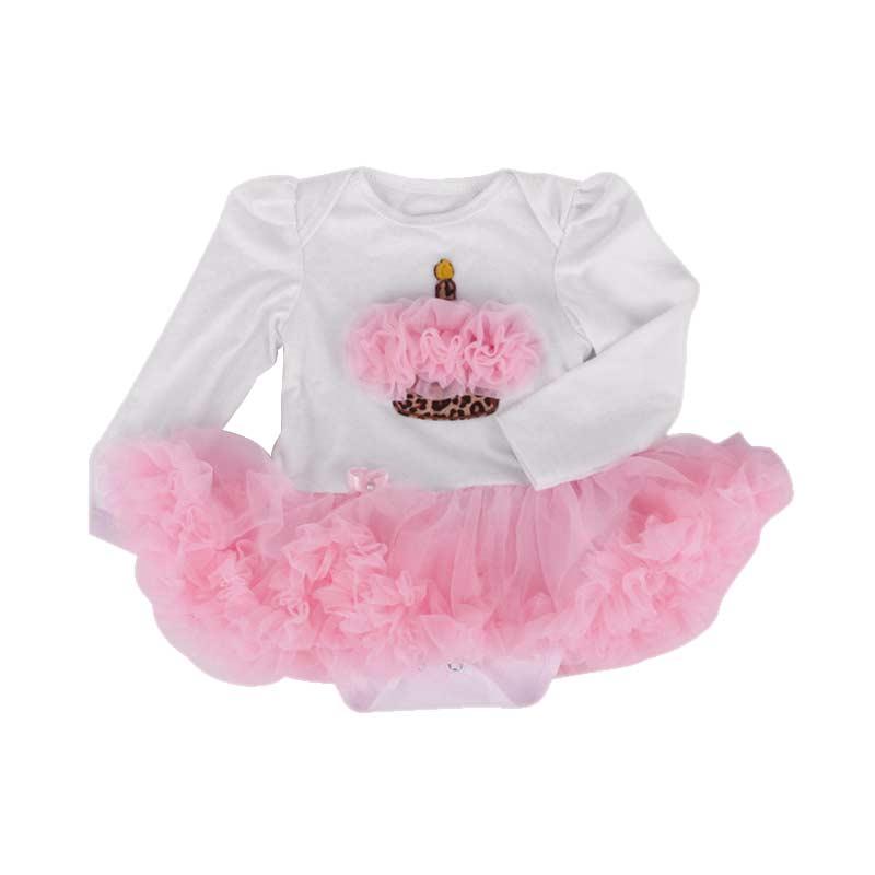 Hot S 4pcs/set Cute Christmas Baby Girls Newborn Romper Tutu Dress+Headband+Shoes+Leggings Set Party Birthday Gifts -17