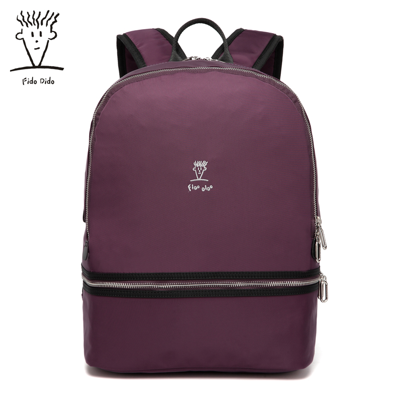 Fido Dido Rotro Backpack Women Nylon Bag Women Bag Small Women Backpack Mochila Feminina School Bags for Teenagers 1591!! fido