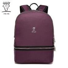 Fido Dido Rotro рюкзак женщин нейлоновая сумка женская сумка маленькая женщин рюкзак Mochila Feminina школьные сумки для подростков 1591!!