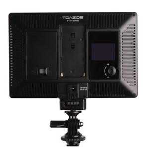 Image 4 - TOAZOE T119S Ultra thin LED Video Light Photography Fill Light 3300K 5600K CRI95+ for Canon Nikon Sony Panasonic DSLR Camera