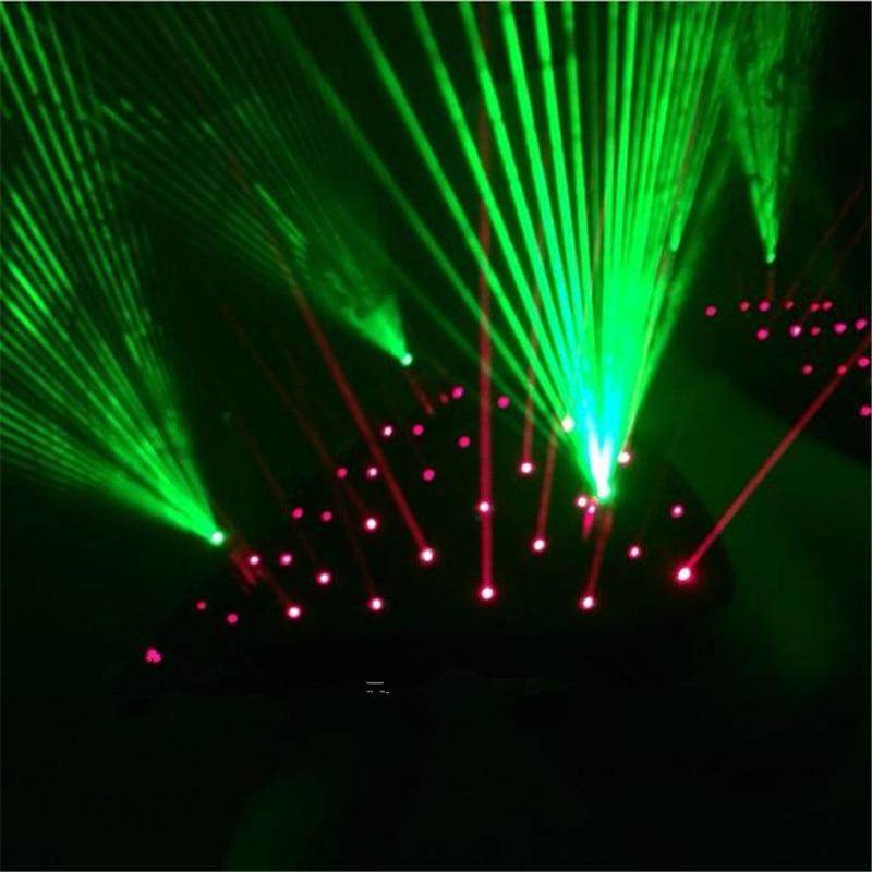 Neues Design Rot Grün Laser Weste Laserman Weste Anzüge Mann - Partyartikel und Dekoration - Foto 5