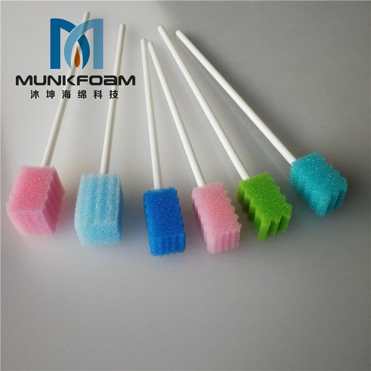 Descartável dental clinic oral limpeza swab esponja