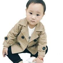 2018 niño Chaqueta de algodón niños y niñas primavera otoño abrigo niños  Bebes moda sólido ropa 9198e60e2f44