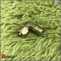 Cotovelo do encaixe do ar do cupper de 1/8np 6mm    através do encaixe conecta a tubulação de 6mm shoot através das peças pneumaticcupper da mola de ar da torneira do ar| | |  -