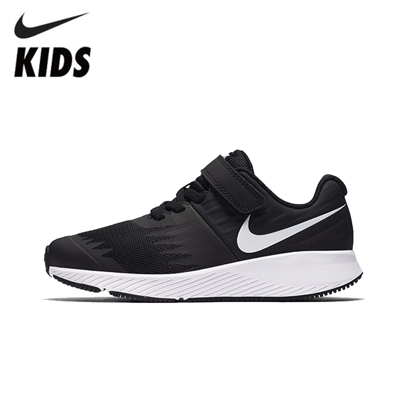 8560aeea07 NIKE KIDS STAR RUNNER (PSV) New Arrival Original Breathable Boy And Girl  Sports Comfortable Running Shoes# 921443