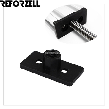 50pcs/Lot 3D Printer Openbuilds POM ACME Nut Plate for 8mm Tr8*8 Metric Acme Lead Screw 8mm Thread Rod Trapezoidal Tap T8