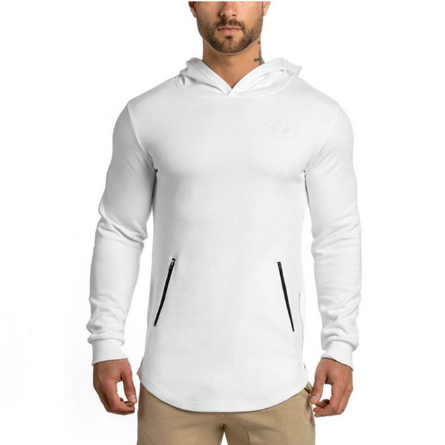Long-sleeved Hooded Outdoor Men's tight-fitting sports