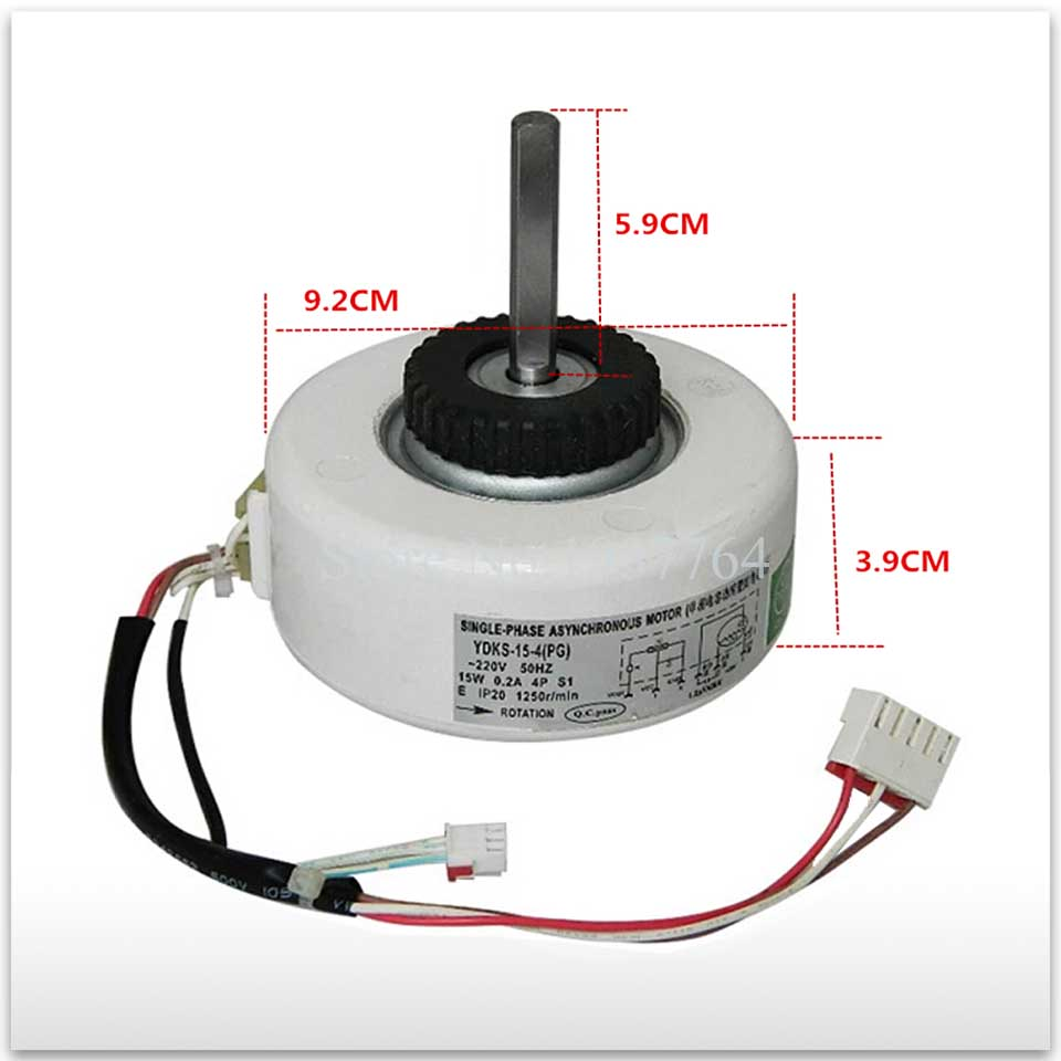 New for Air conditioning Stepper motor YDKS-15-4(PG) 15W Synchronous scavenging motor good workingNew for Air conditioning Stepper motor YDKS-15-4(PG) 15W Synchronous scavenging motor good working