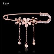 Women Hijab Pins Rose Safety Pin