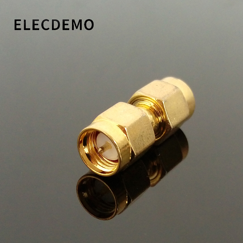 RF Coaxial Connector SMA-JJ SMA Head Male Double Pass Both Ends Inner Screw Inner Needle SMA-50JJ