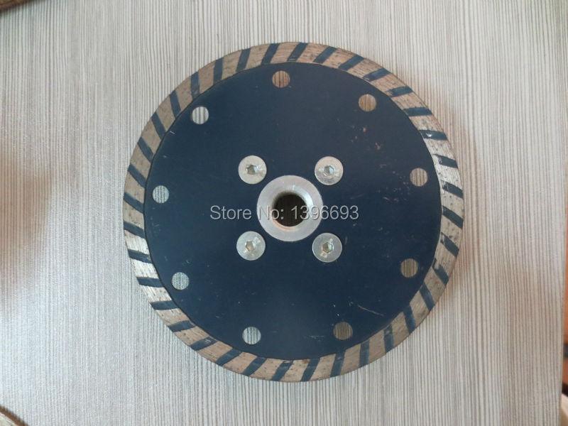 Hoja de sierra circular de diamante turbo de 10 piezas115x7xM14 con - Hojas de sierra - foto 2