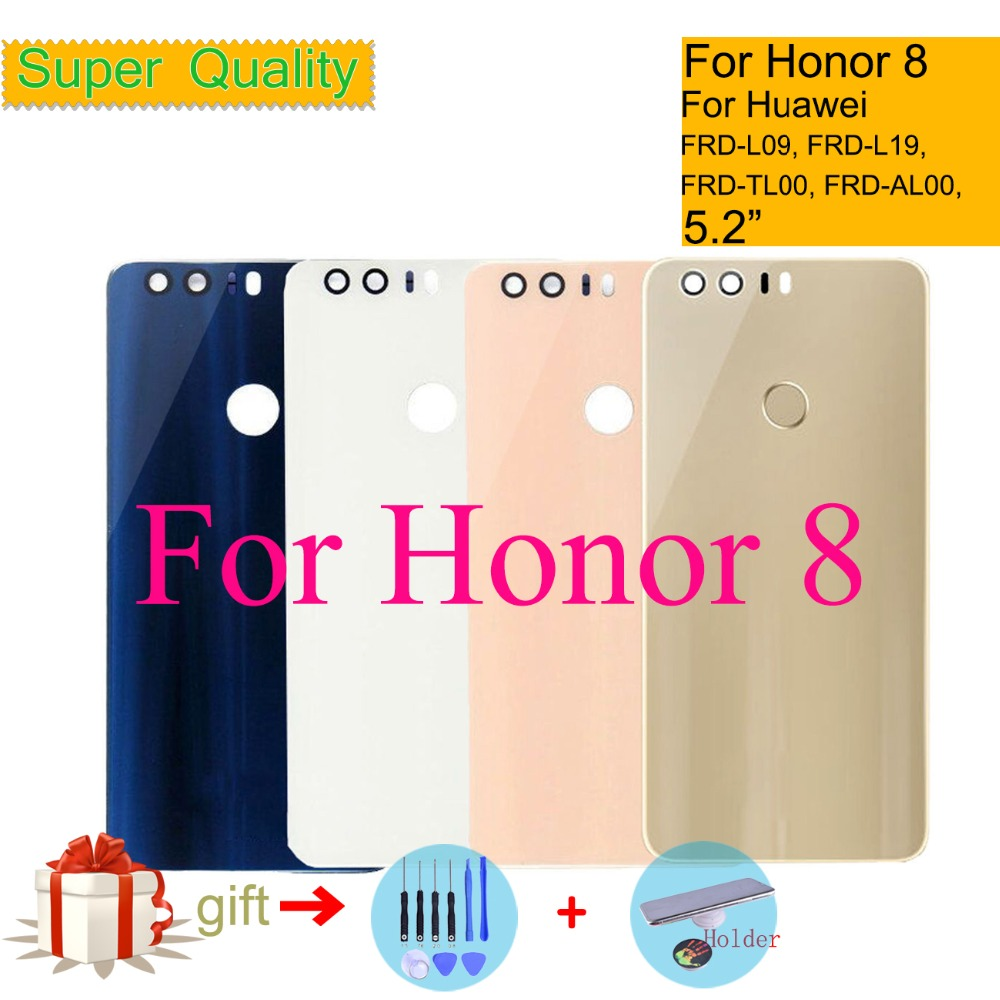 Battery-Cover Housing Back-Glass Huawei Honor Rear-Door FRD-L04 Chassis-Shell ORIGINAL